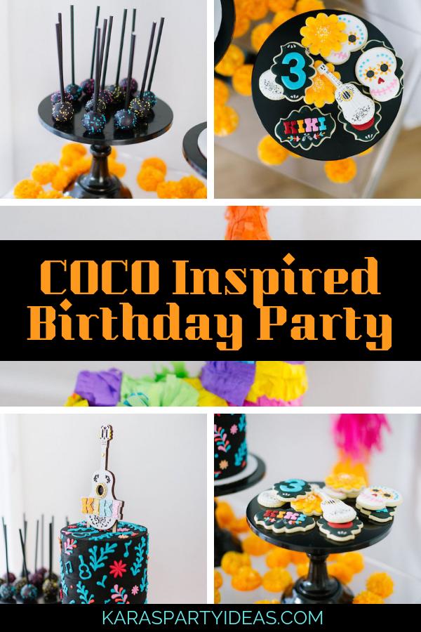 COCO Inspired Birthday Party via Kara's Party Ideas - KarasPartyIdeas.com