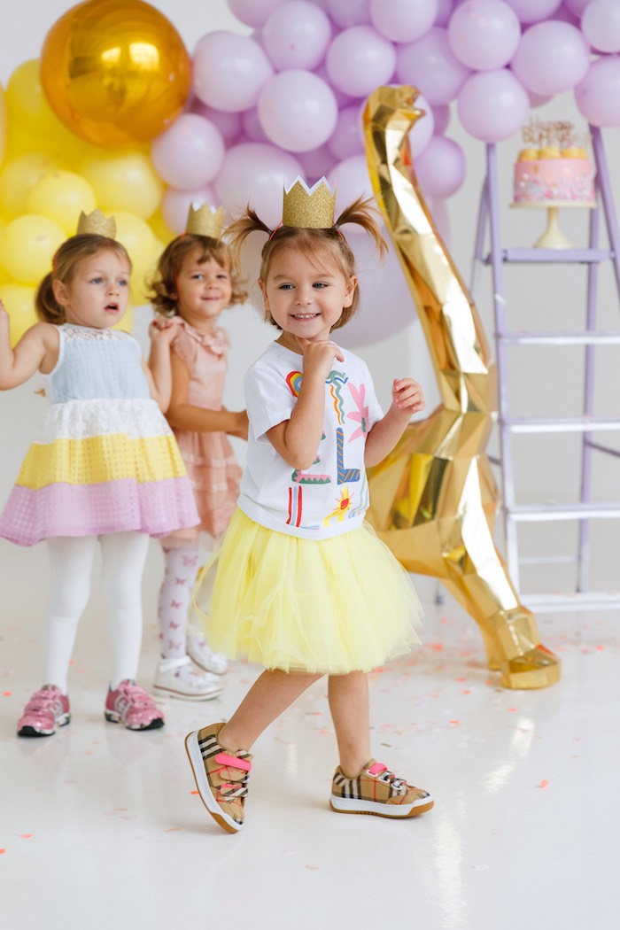 Chic Pastel Dino Birthday Party on Kara's Party Ideas | KarasPartyIdeas.com (9)