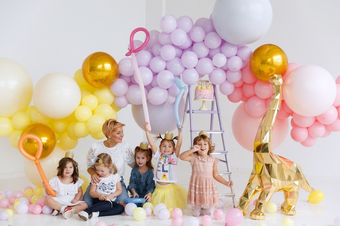 Chic Pastel Dino Birthday Party on Kara's Party Ideas | KarasPartyIdeas.com (6)