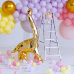 Chic Pastel Dino Birthday Party on Kara's Party Ideas | KarasPartyIdeas.com (3)