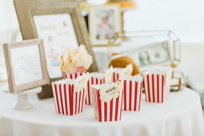 Doljabi Guessing Popcorn Boxes + Table from a Classic Circus Party on Kara's Party Ideas | KarasPartyIdeas.com (40)