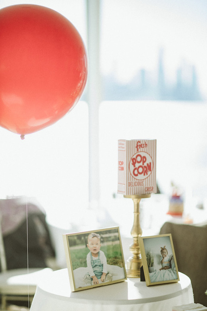 Circus-inspired Highlight Table from a Classic Circus Party on Kara's Party Ideas | KarasPartyIdeas.com (38)