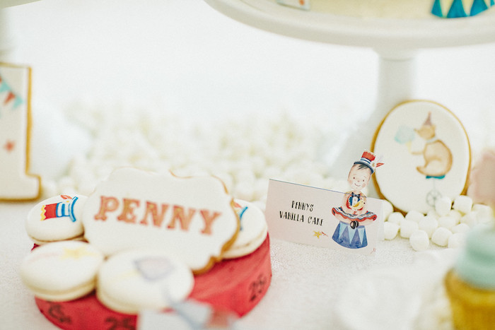 Circus Themed Dessert Label + Sweets from a Classic Circus Party on Kara's Party Ideas | KarasPartyIdeas.com (24)