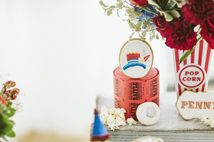 Tickets & Treats from a Classic Circus Party on Kara's Party Ideas | KarasPartyIdeas.com (10)