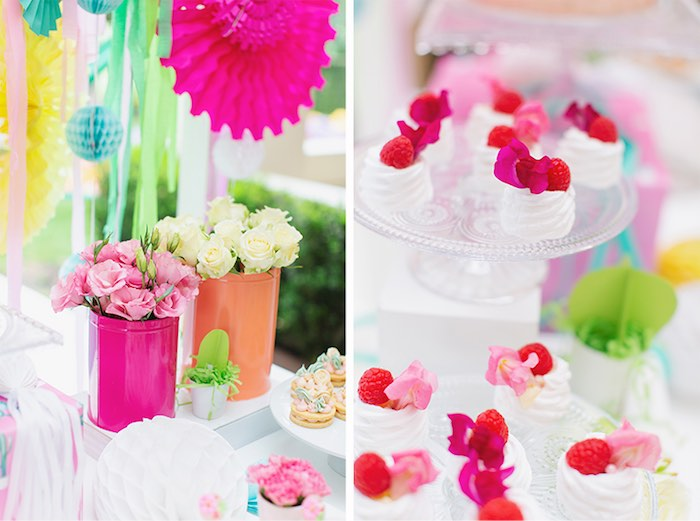 Blooms and Sweets from a Colorful Frida Kahlo Fiesta on Kara's Party Ideas | KarasPartyIdeas.com (16)
