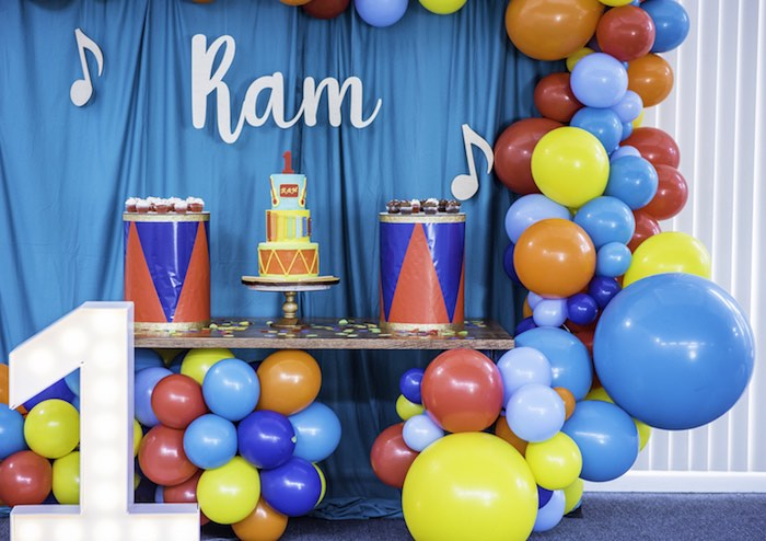 Colorful Music Birthday Party on Kara's Party Ideas | KarasPartyIdeas.com (12)