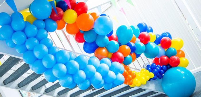 Colorful Music Birthday Party on Kara's Party Ideas | KarasPartyIdeas.com (1)