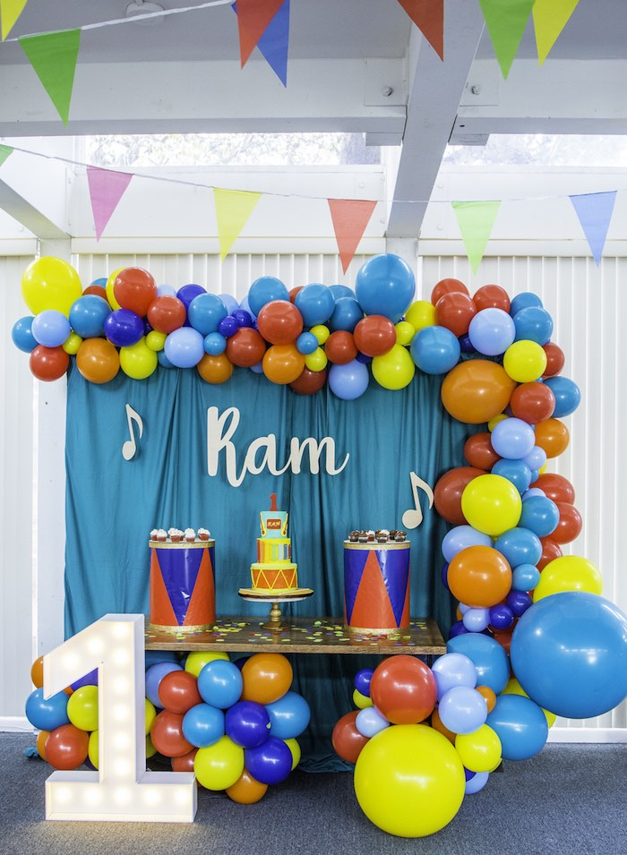 Colorful Music Birthday Party on Kara's Party Ideas | KarasPartyIdeas.com (16)