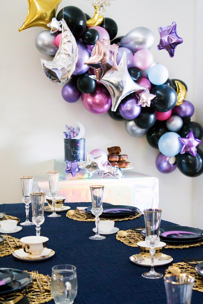Cosmic Celestial Galaxy Birthday Party on Kara's Party Ideas | KarasPartyIdeas.com (12)