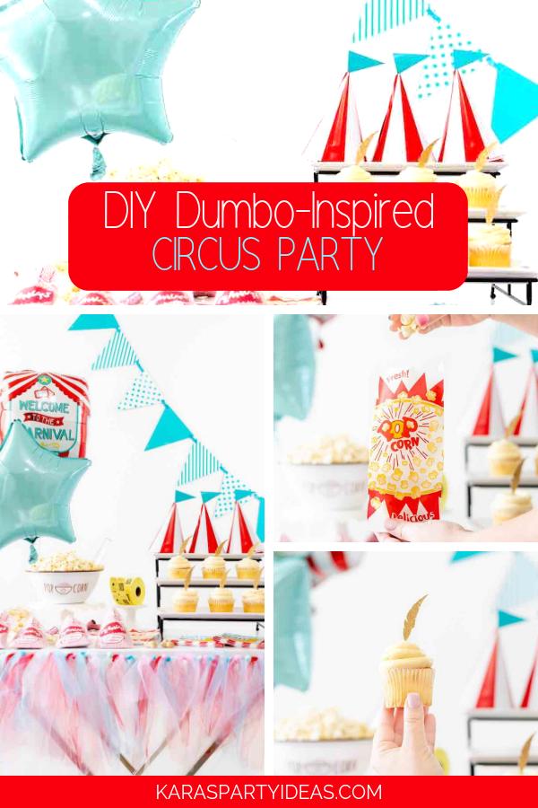 DIY Dumbo-Inspired Circus Party via Kara's Party Ideas - KarasPartyIdeas.com