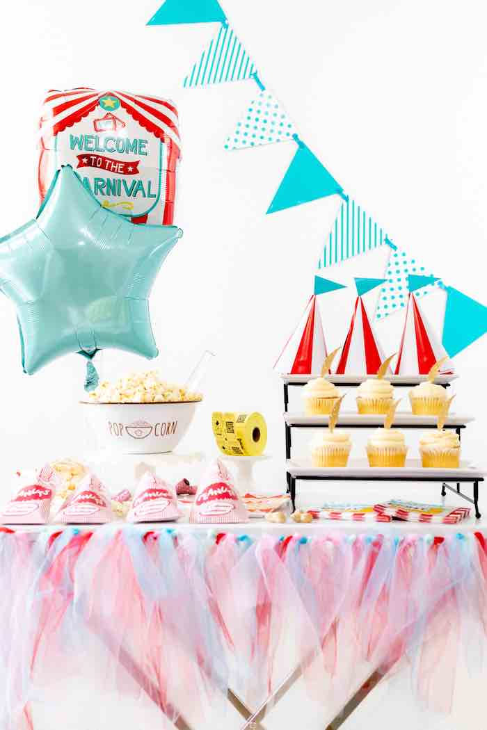 DIY Dumbo-inspired Circus Party