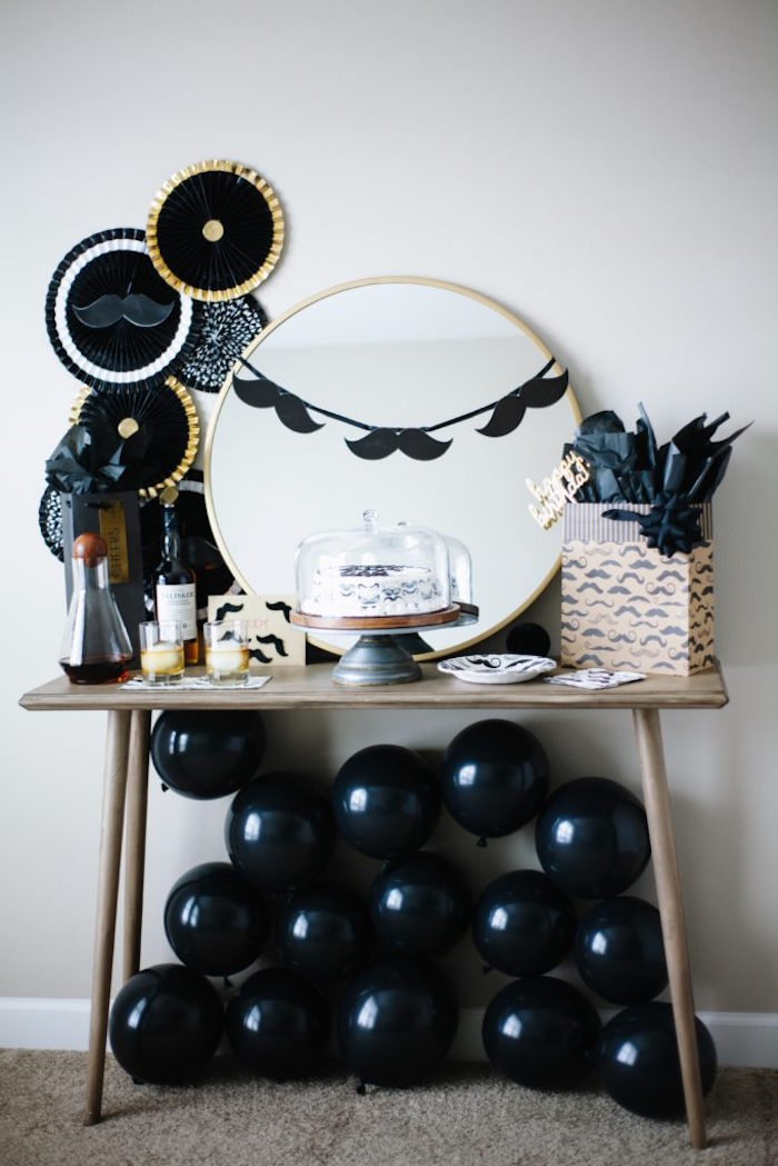 Debonair Mustache Party on Kara's Party Ideas | KarasPartyIdeas.com (16)