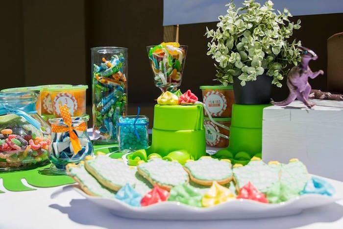 Dinosaur Birthday Party on Kara's Party Ideas | KarasPartyIdeas.com (29)