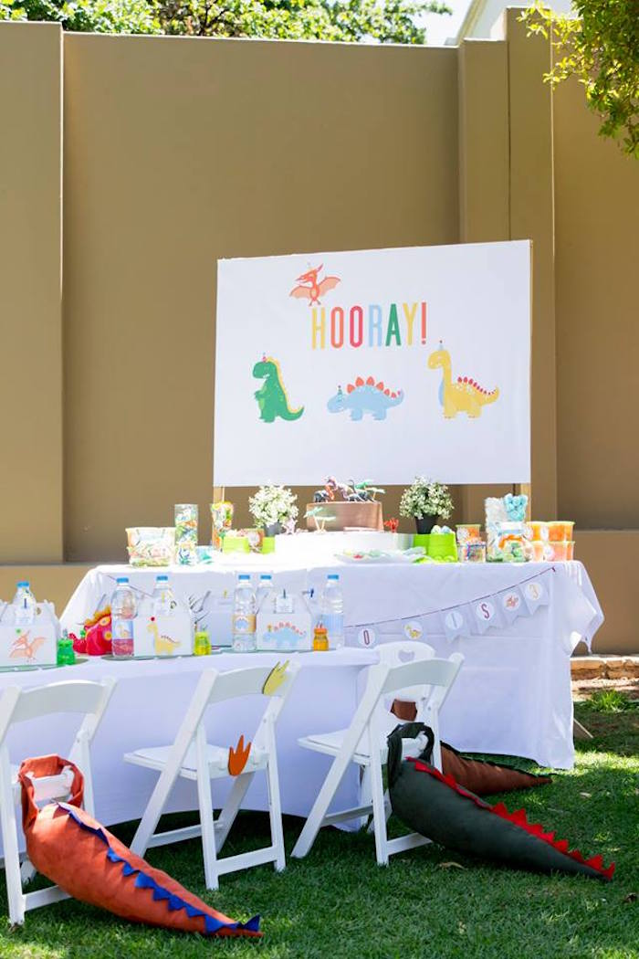 Dinosaur Birthday Party on Kara's Party Ideas | KarasPartyIdeas.com (25)
