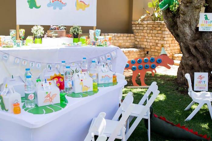 Dinosaur Birthday Party on Kara's Party Ideas | KarasPartyIdeas.com (24)