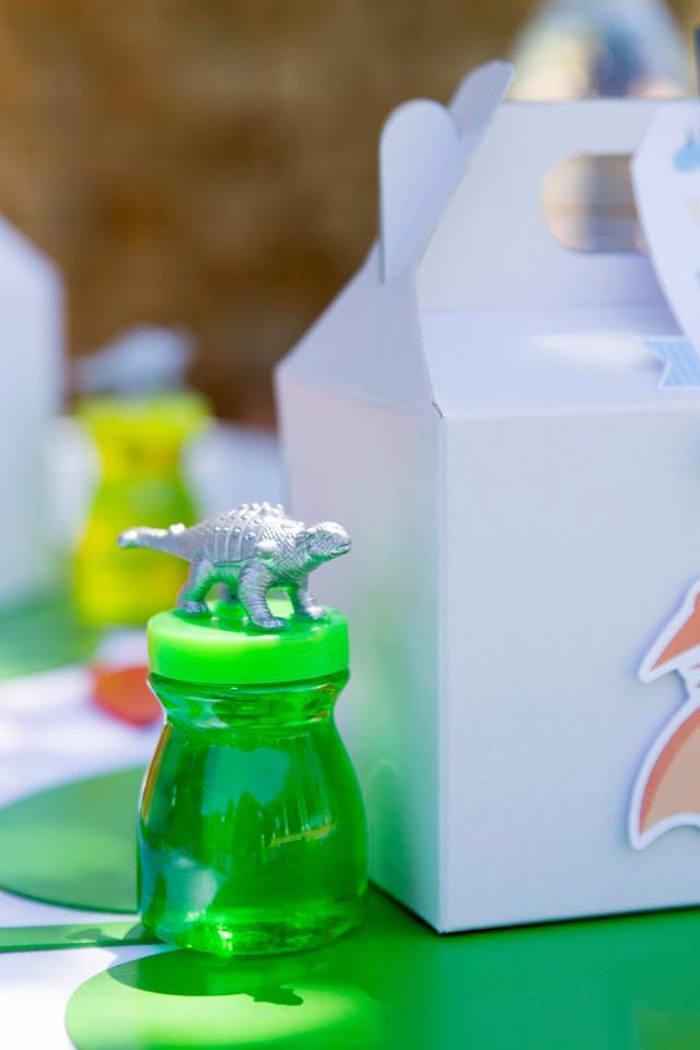 Dinosaur Jar from a Dinosaur Birthday Party on Kara's Party Ideas | KarasPartyIdeas.com (11)
