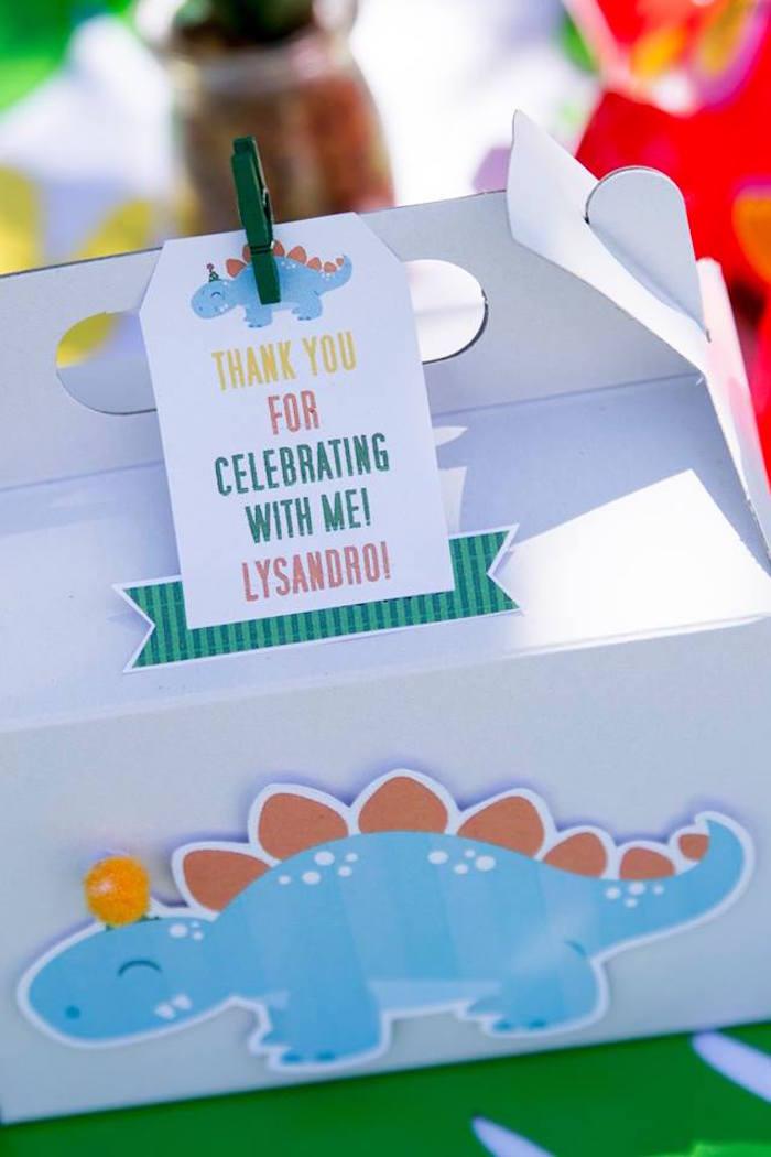 Dinosaur Party Favor Tag from a Dinosaur Birthday Party on Kara's Party Ideas | KarasPartyIdeas.com (9)