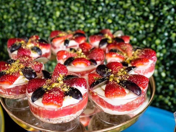 Berry Dessert Cups from a Disney Pixar Cars Birthday Party on Kara's Party Ideas | KarasPartyIdeas.com (22)