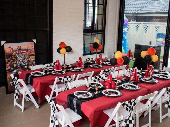 Karas Party Ideas Disney Pixar Cars Birthday Party