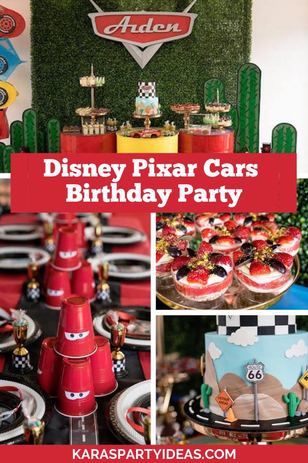 Disney Pixar Cars Birthday Party via Kara's Party Ideas - KarasPartyIdeas.com