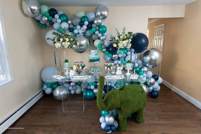 Elephant Baby Shower on Kara's Party Ideas | KarasPartyIdeas.com (10)