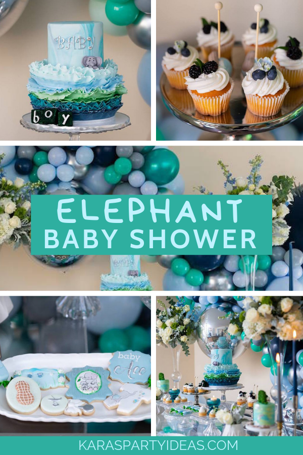 Elephant Baby Shower via Kara's Party Ideas - KarasPartyIdeas.com.png