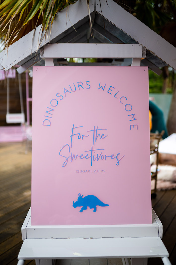 Girly Jurassic World Birthday Party on Kara's Party Ideas | KarasPartyIdeas.com (11)