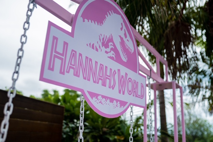 Girly Jurassic World Birthday Party on Kara's Party Ideas | KarasPartyIdeas.com (18)