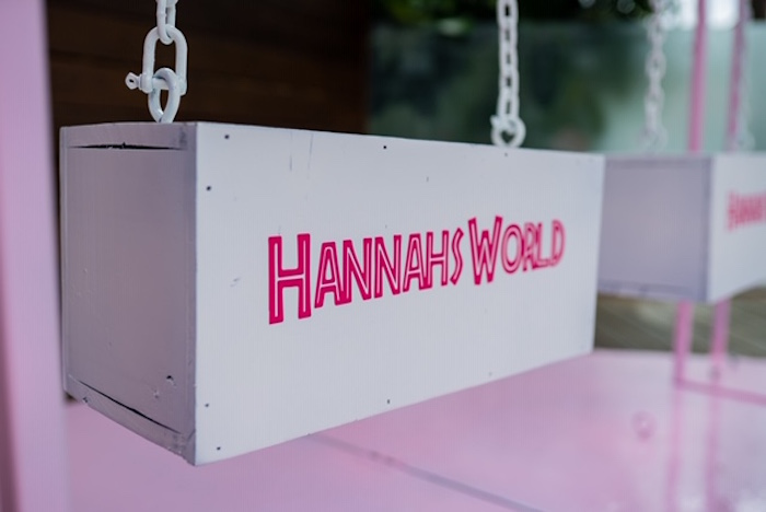 Customized Swing from a Girly Jurassic World Birthday Party on Kara's Party Ideas | KarasPartyIdeas.com (16)