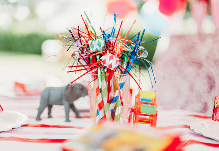 Party Blowers from a Greatest Showman Inspired Circus Party on Kara's Party Ideas | KarasPartyIdeas.com (32)