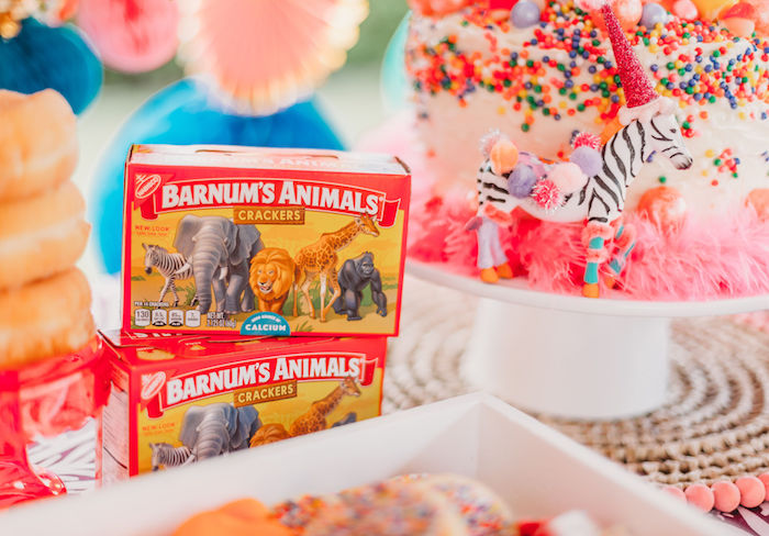 Barnum's Animal Crackers from a Greatest Showman Inspired Circus Party on Kara's Party Ideas | KarasPartyIdeas.com (7)