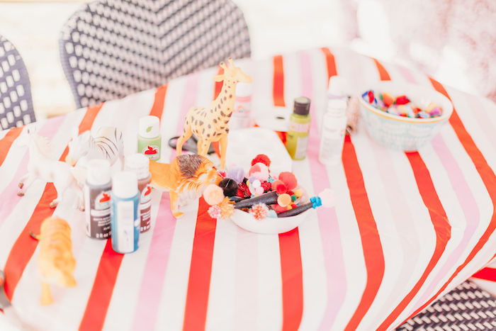Circus Activity Table from a Greatest Showman Inspired Circus Party on Kara's Party Ideas | KarasPartyIdeas.com (31)