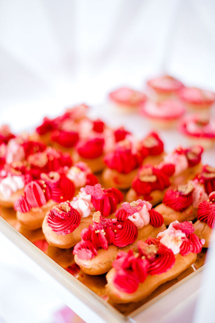 Raspberry Eclairs from a Japanese Themed Birthday Party on Kara's Party Ideas | KarasPartyIdeas.com (31)