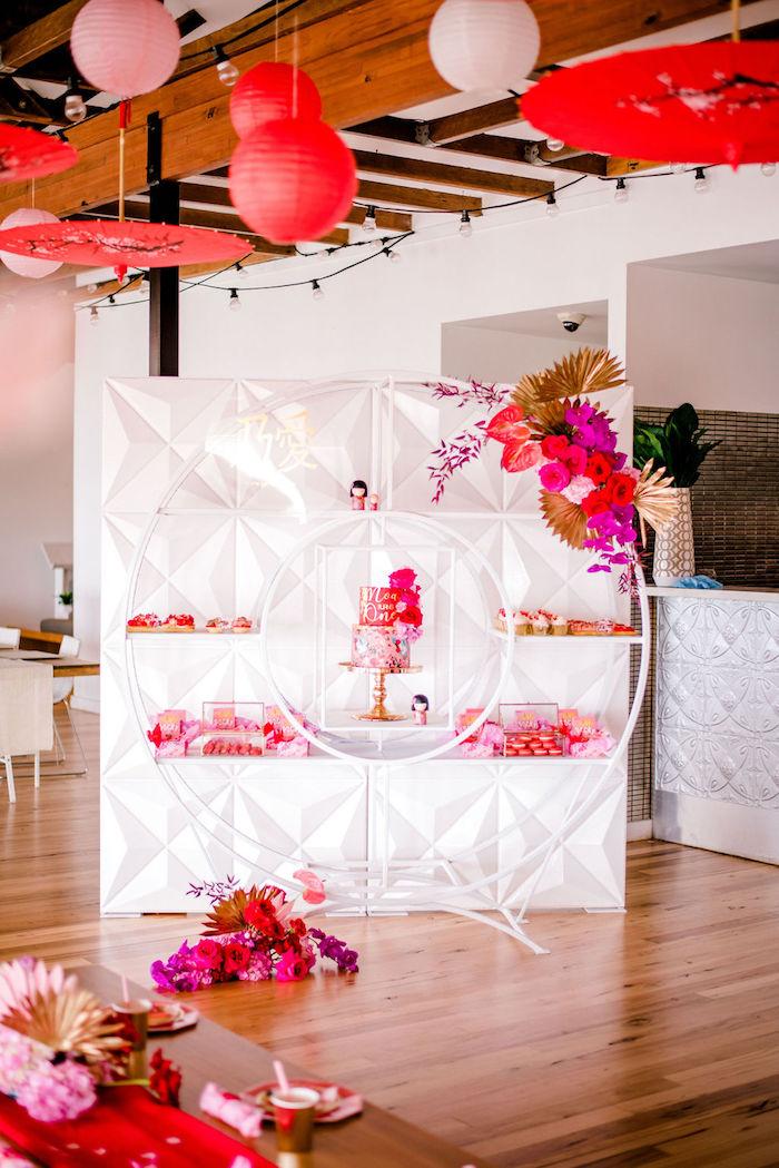 Japanese Themed Birthday Party on Kara's Party Ideas | KarasPartyIdeas.com (28)