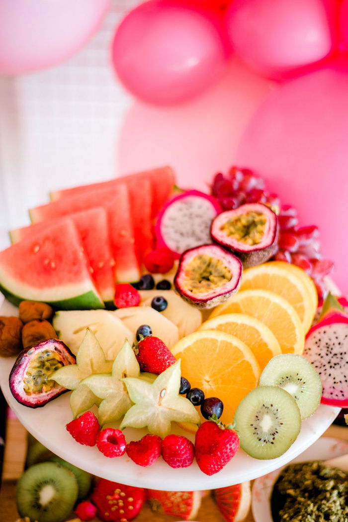 Fruit Platter from a Japanese Themed Birthday Party on Kara's Party Ideas | KarasPartyIdeas.com (21)