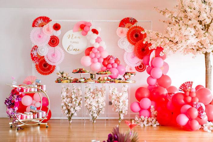 Japanese Themed Birthday Party on Kara's Party Ideas | KarasPartyIdeas.com (9)