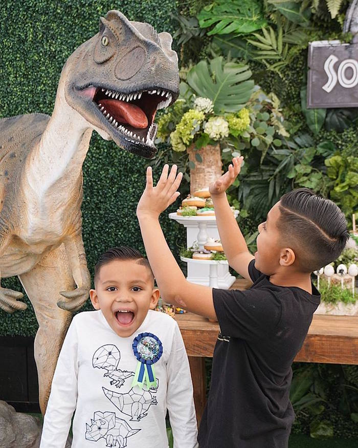 Jurassic Park Dinosaur Birthday Party on Kara's Party Ideas | KarasPartyIdeas.com (16)