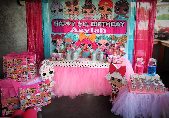 L.O.L. Surprise Birthday Party on Kara's Party Ideas | KarasPartyIdeas.com (7)