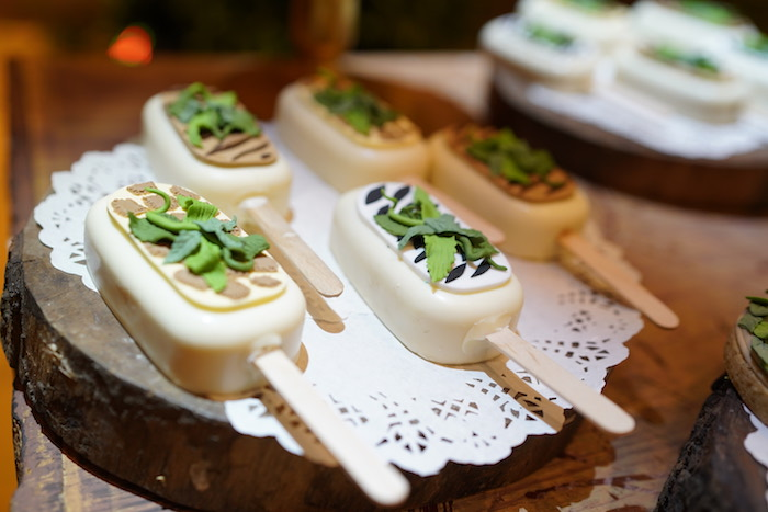 "Safari Animal-themed Cake Popsicles from a Lion King ""Circle of Life"" Party on Kara's Party Ideas 