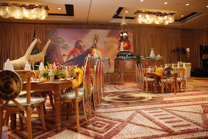 "Lion King ""Circle of Life"" Party on Kara's Party Ideas 