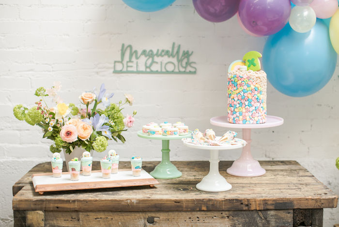 Magically Delicious Dessert Table from a Lucky Charms St. Patrick's Day Party on Kara's Party Ideas | KarasPartyIdeas.com (26)