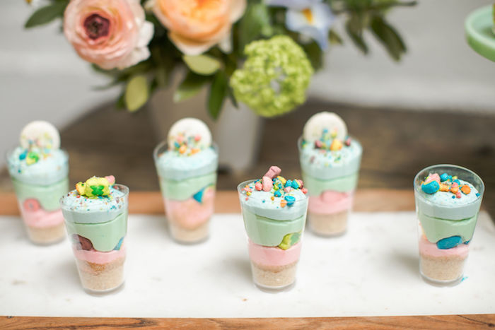 Lucky Charms Dessert Shooters from a Lucky Charms St. Patrick's Day Party on Kara's Party Ideas | KarasPartyIdeas.com (33)