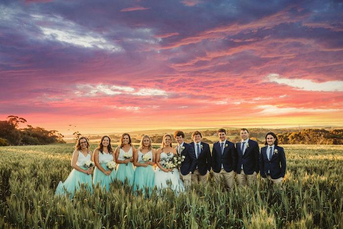 Modern Country Wedding on Kara's Party Ideas | KarasPartyIdeas.com (5)