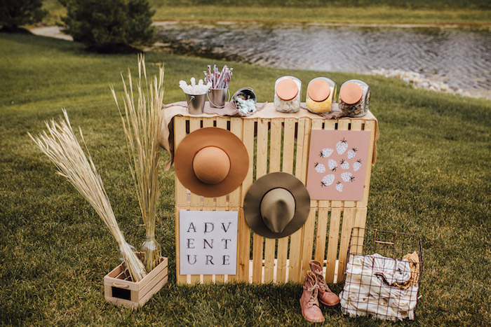 Modern Rustic Prairie Girl Party on Kara's Party Ideas | KarasPartyIdeas.com (41)