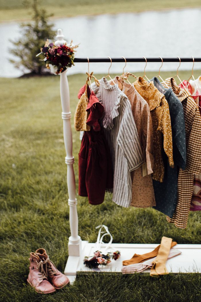 Prairie Dress-up Station from a Modern Rustic Prairie Girl Party on Kara's Party Ideas | KarasPartyIdeas.com (50)