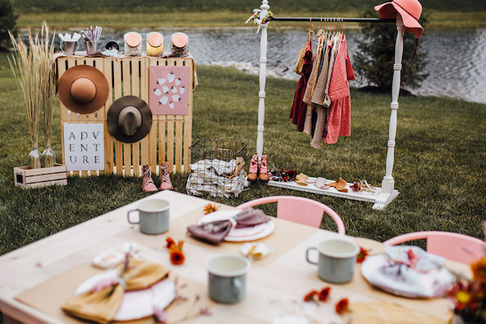 Modern Rustic Prairie Girl Party on Kara's Party Ideas | KarasPartyIdeas.com (26)