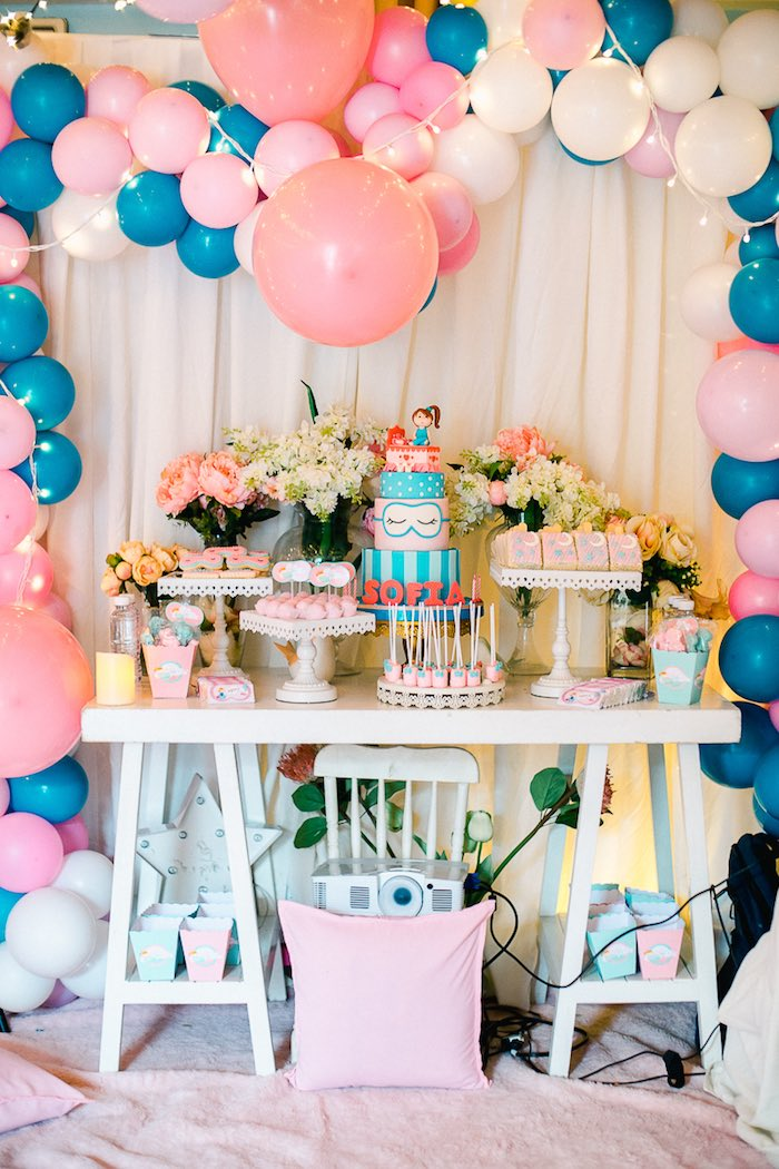 Pajama Slumber Party on Kara's Party Ideas | KarasPartyIdeas.com (21)