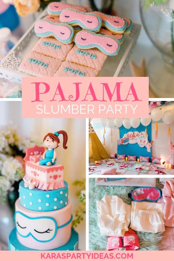 Awesome Karas Party Ideas Pajama Slumber Party Karas Party Ideas Funny Birthday Cards Online Inifodamsfinfo