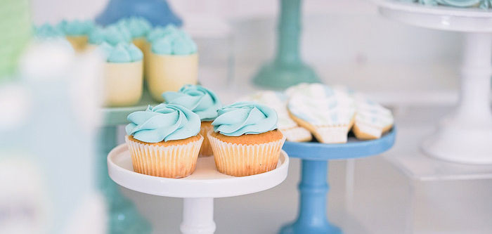 Pastel Up, Up & Away Birthday Party on Kara's Party Ideas | KarasPartyIdeas.com (2)