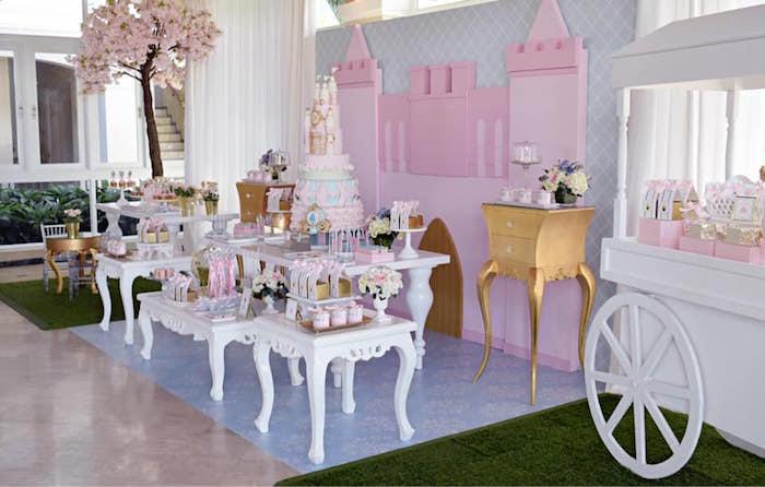 Princess Dress-Up Birthday Party on Kara's Party Ideas | KarasPartyIdeas.com (17)